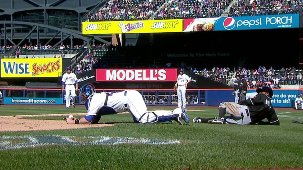 Interference call leads to missed opportunity vs. Mets