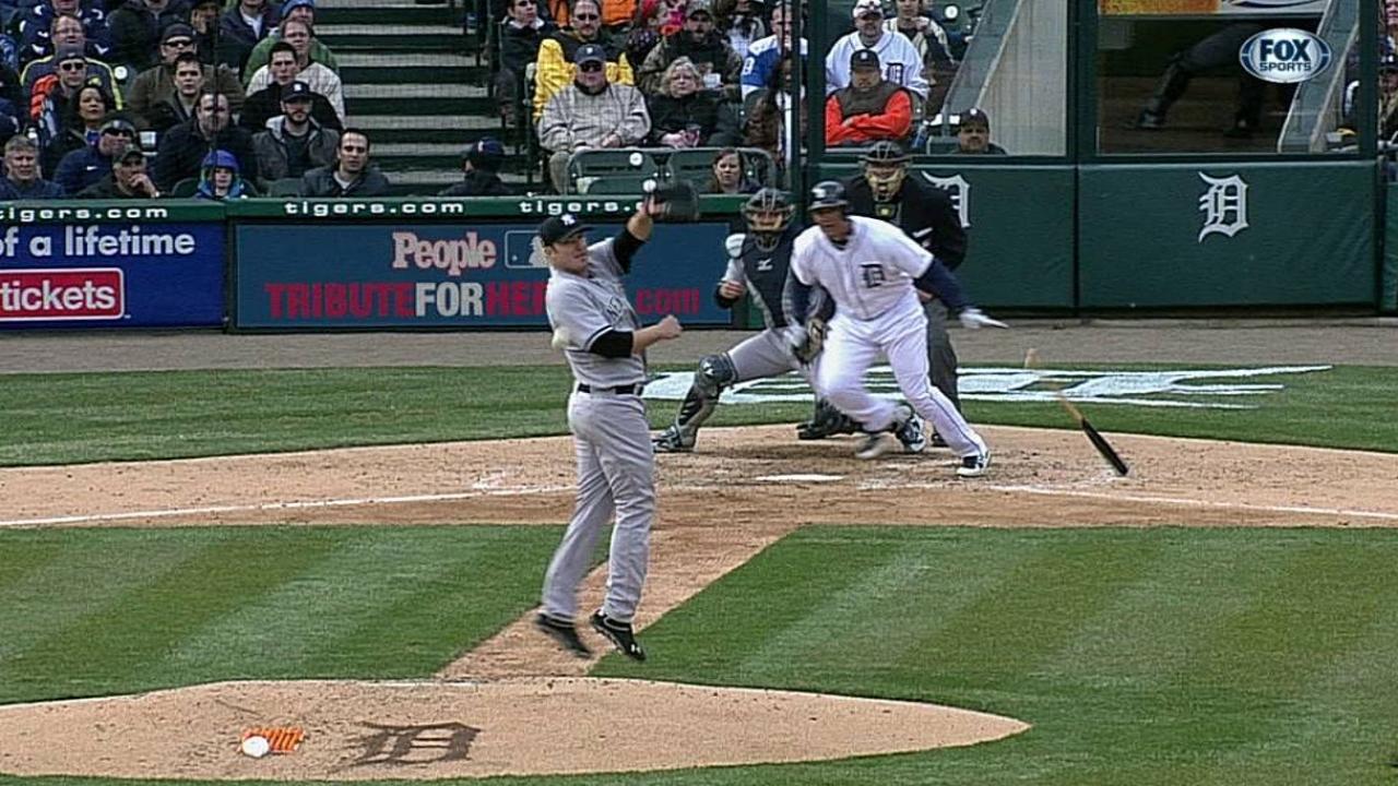 Cabrera tuvo cuatro hits y Detroit doblegó a Yankees