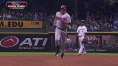 D-backs bop three HRs, keep rolling behind Corbin