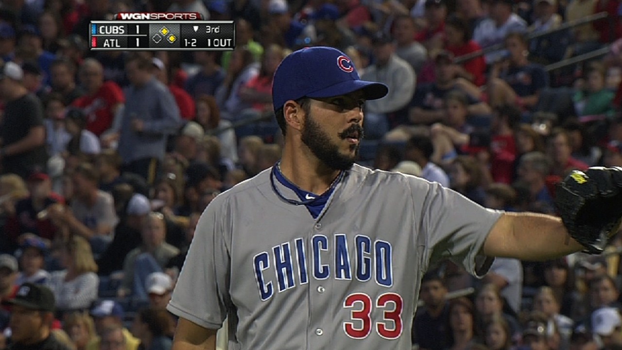 Mármol dejó escapar ventaja de Cubs en el noveno