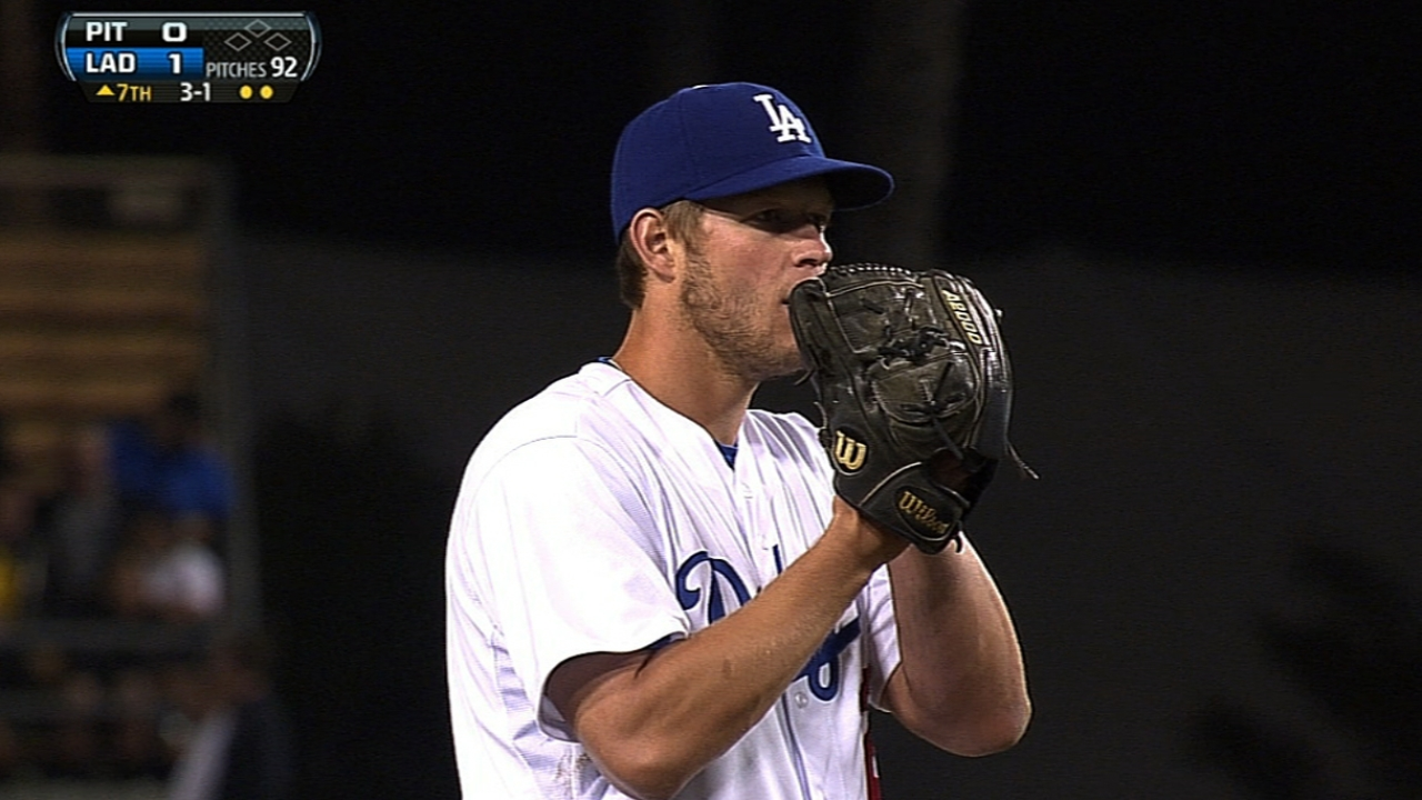 Two wins earn Kershaw NL Player of Week Award