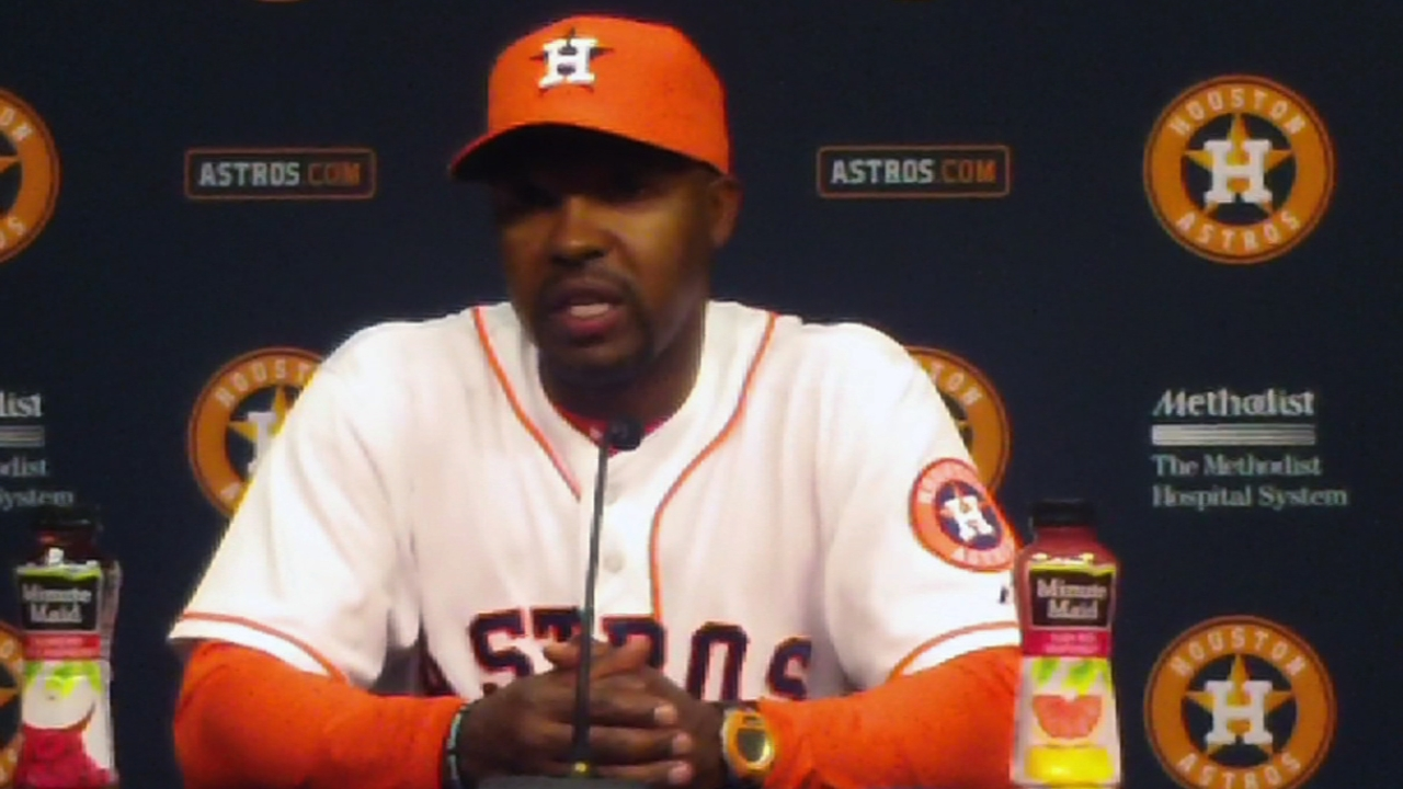 Astros will see new faces on first road trip