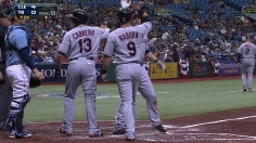 Tribe's offense erupts behind Masterson's gem