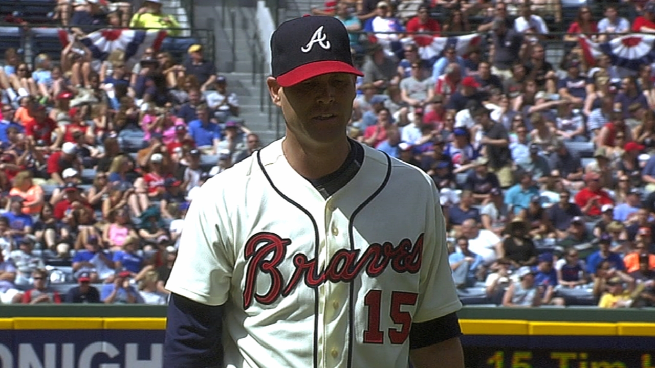Hudson stellar as Braves complete sweep
