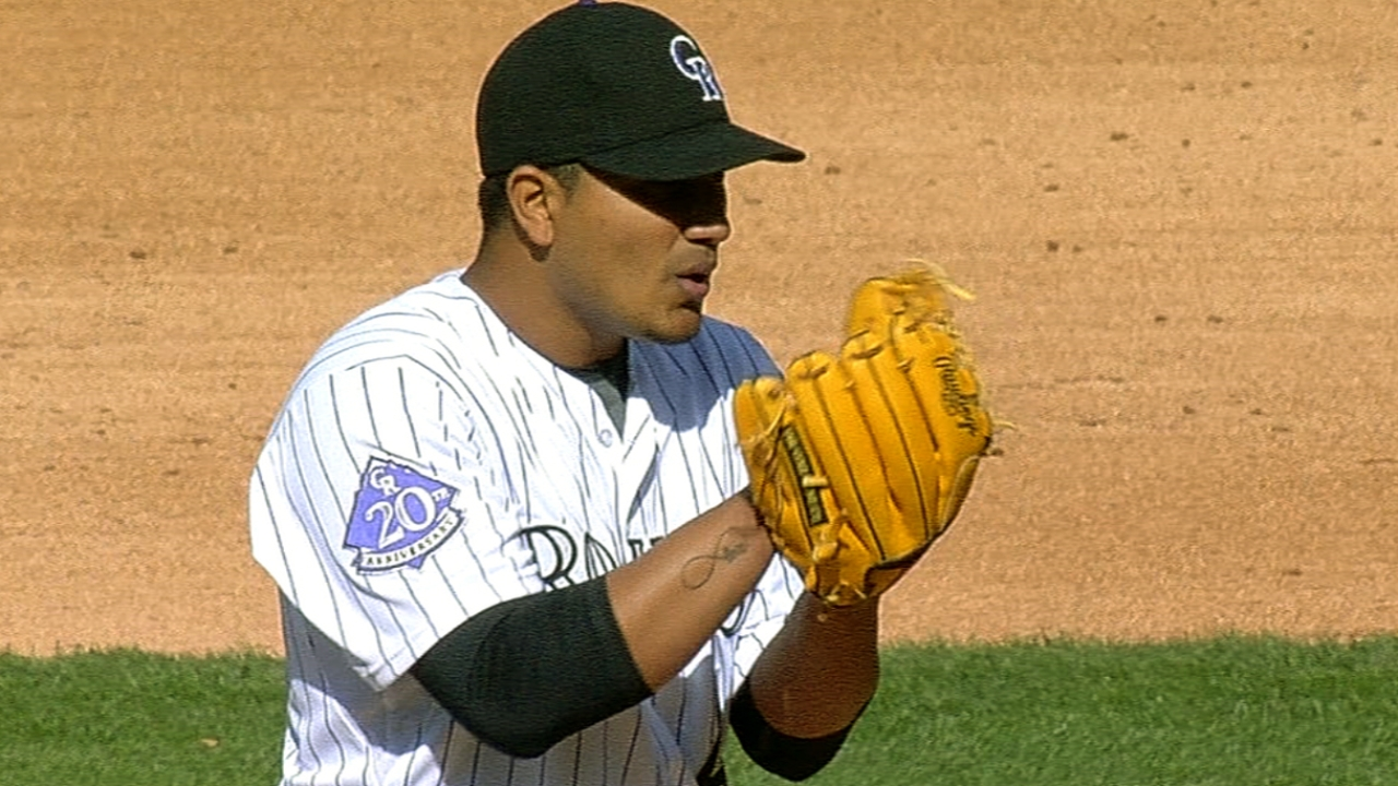 Rockies getting solid work from rotation