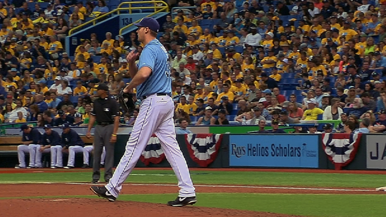 Wright, Ramos managed to save Rays' lead
