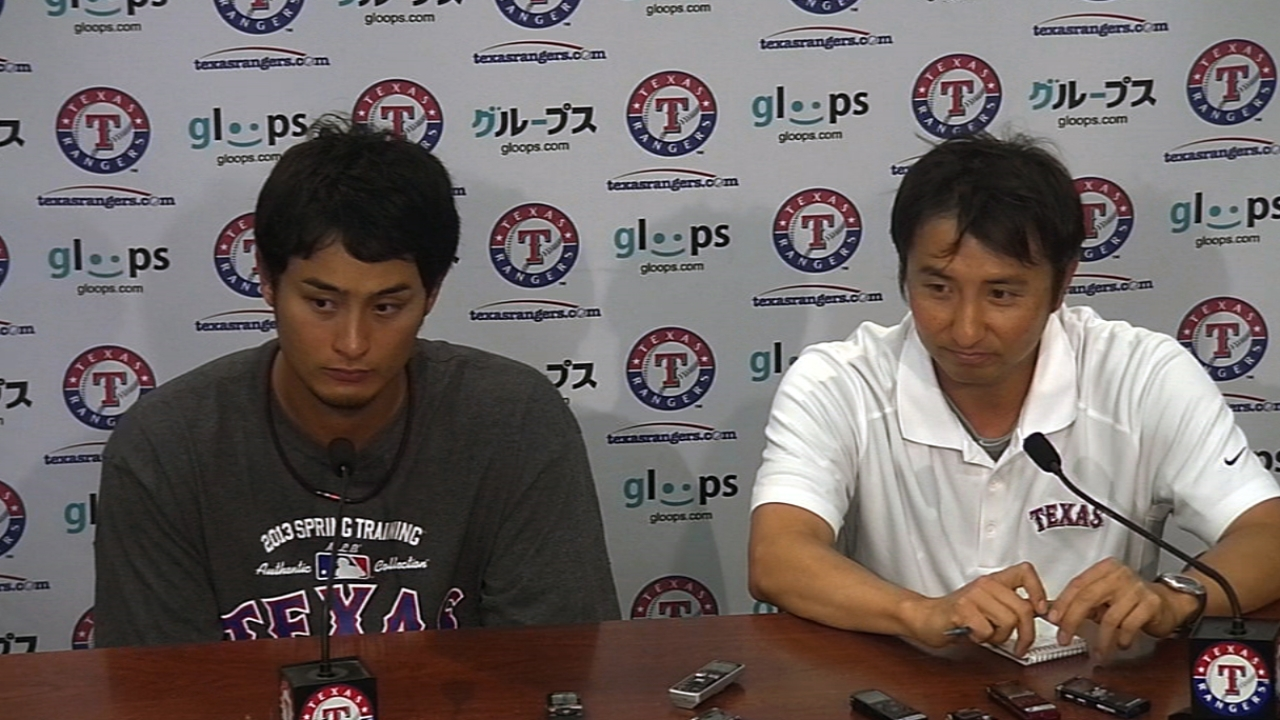Darvish not expected to miss time with blister