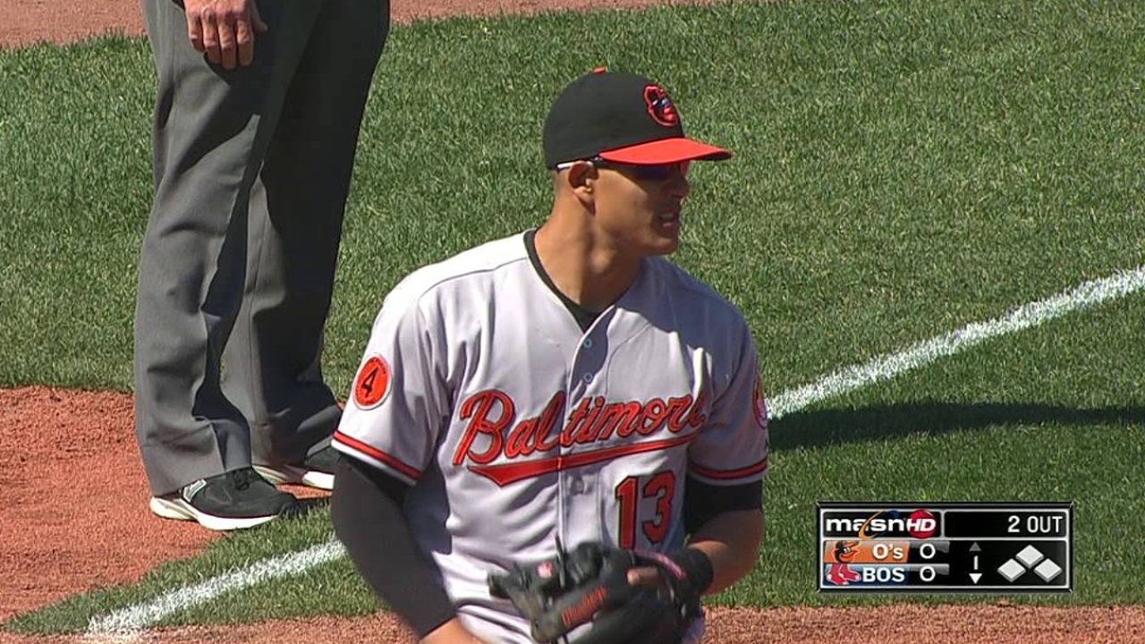 Chen's late trouble costly as O's fall in Boston