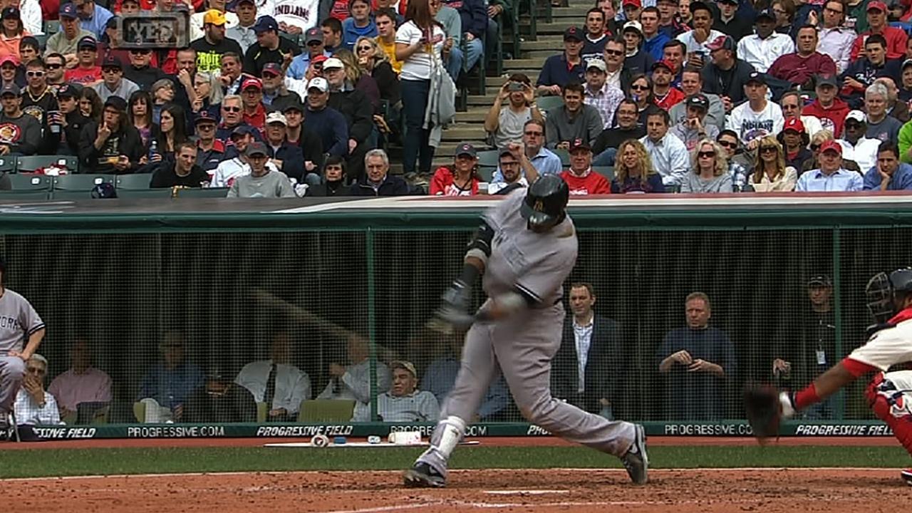 Poder de Canó guió paliza de Yankees vs. Indios