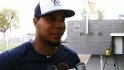 Top prospect Peralta on spring progress, season goals