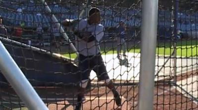 Twins like power in fifth-round catcher Navarreto