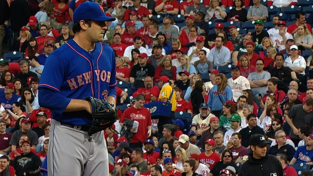 Mets doblegan a Filis con brillante salida de Harvey