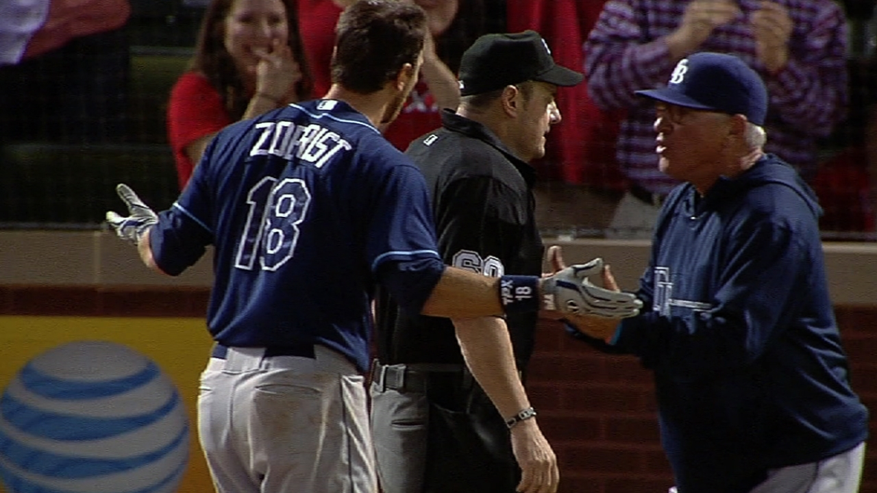 Umpire Foster admits he missed third-strike call