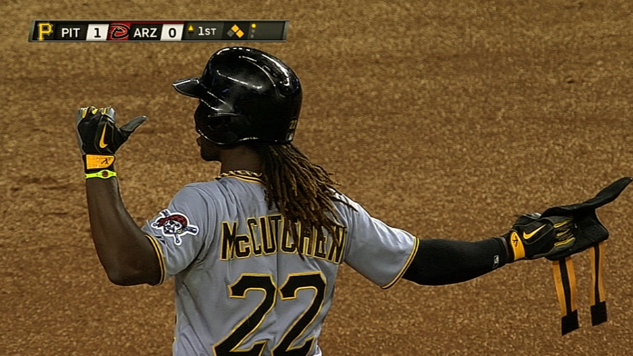 No bad blood between McCutchen, Reds' Chapman