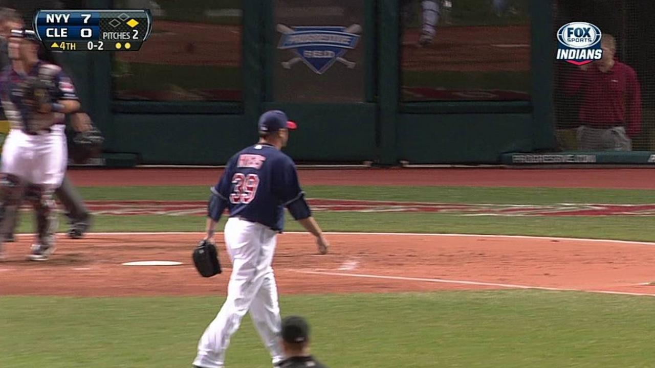Myers saves bullpen, but continues to struggle