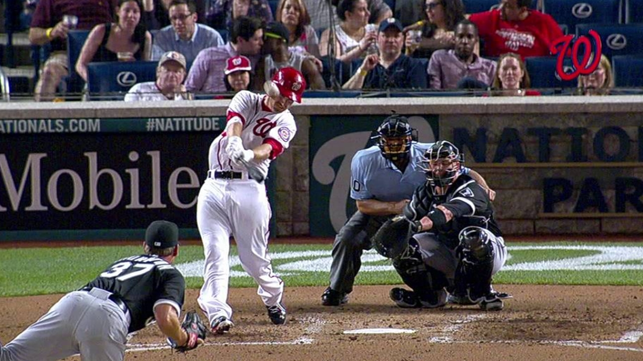 LaRoche leads Nats' homer charge vs. White Sox