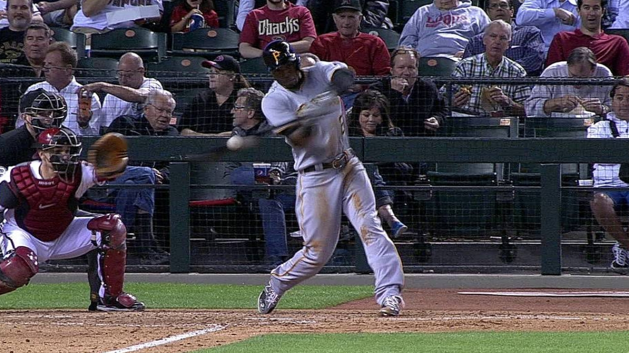 Marte red hot atop Bucs' batting order