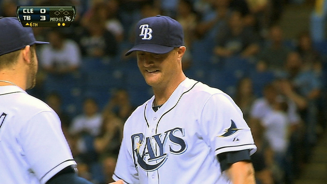 Rays starters focus on quality and quantity of innings