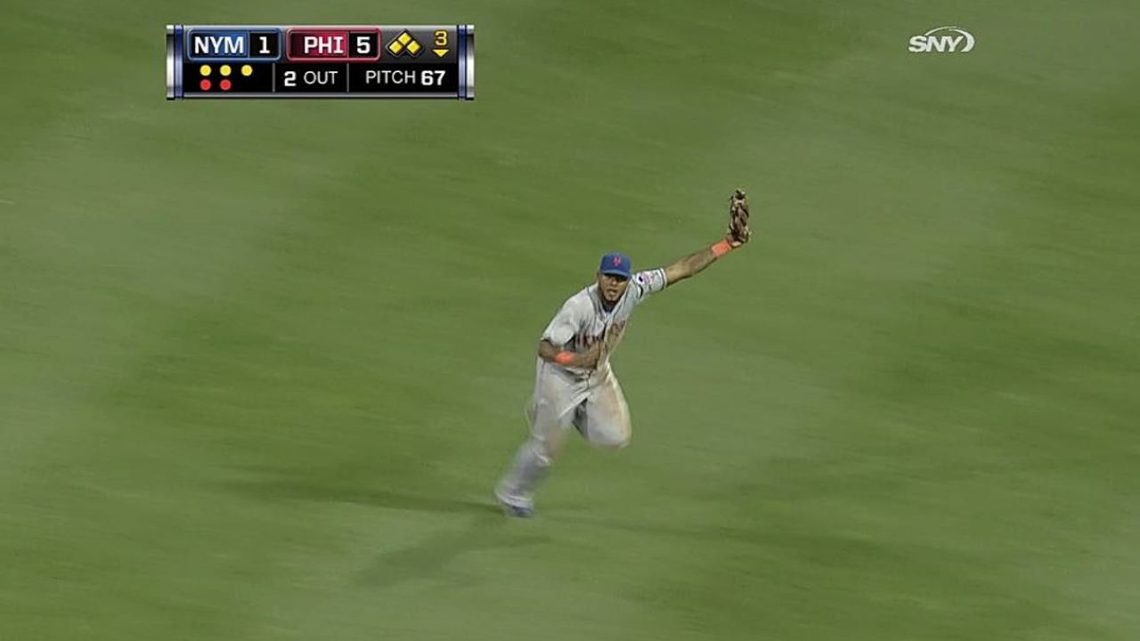 Murphy's hot bat forces Valdespin to right field