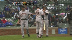 Pagan, Panda persevere to back Vogelsong