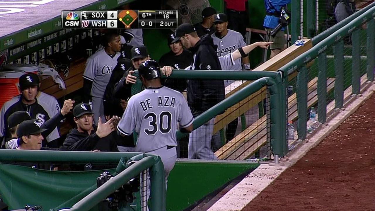 Axelrod falla y White Sox sufren barrida vs. Nacionales