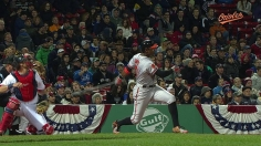 Jones drives in winner to take another Fenway series