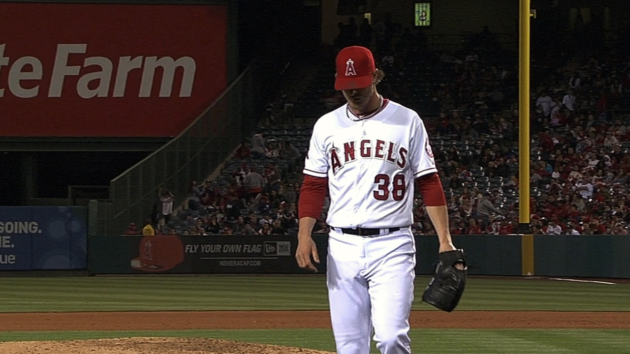 Angels designate Lowe to clear room for Weaver