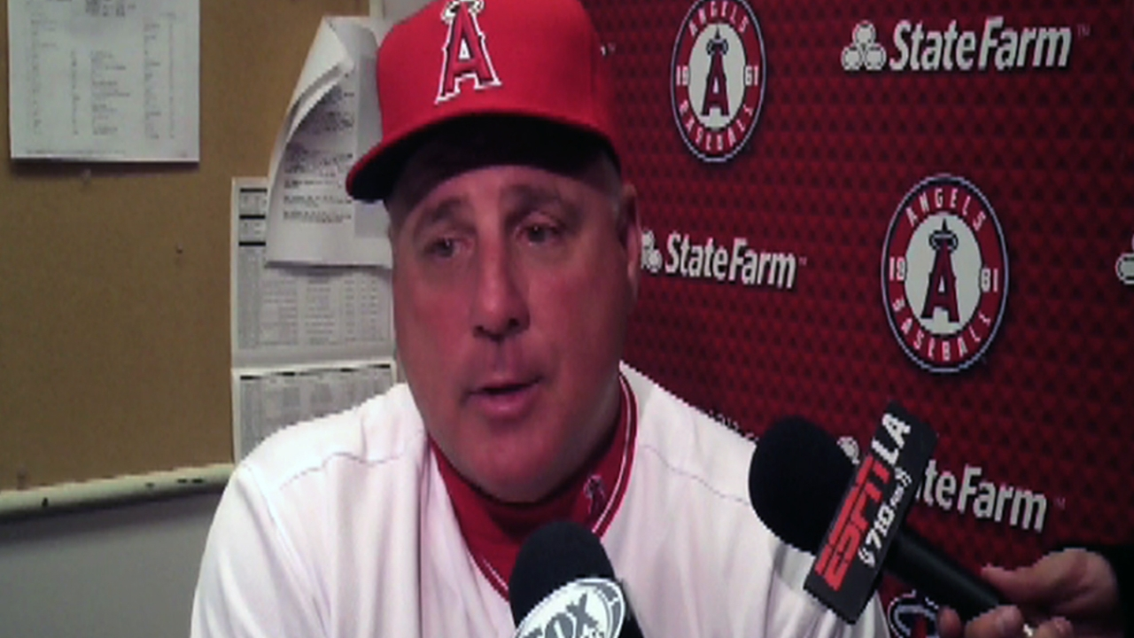 Scioscia holding firm that club will overcome slow start