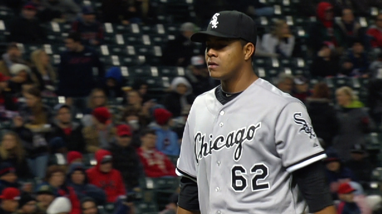 Quintana nearly flawless in seven, but White Sox fall