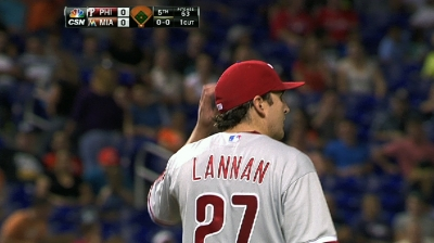 Phillies' rotation to get Lannan back Monday