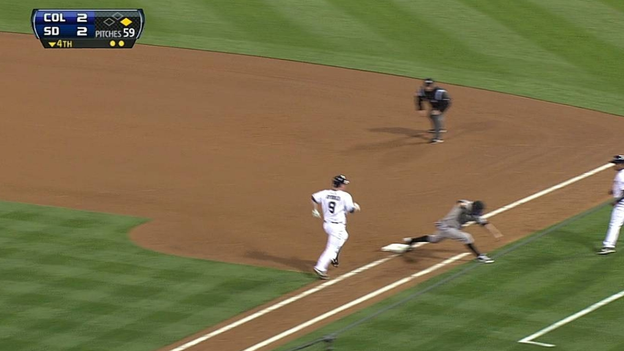 Nelson settling in nicely at third base