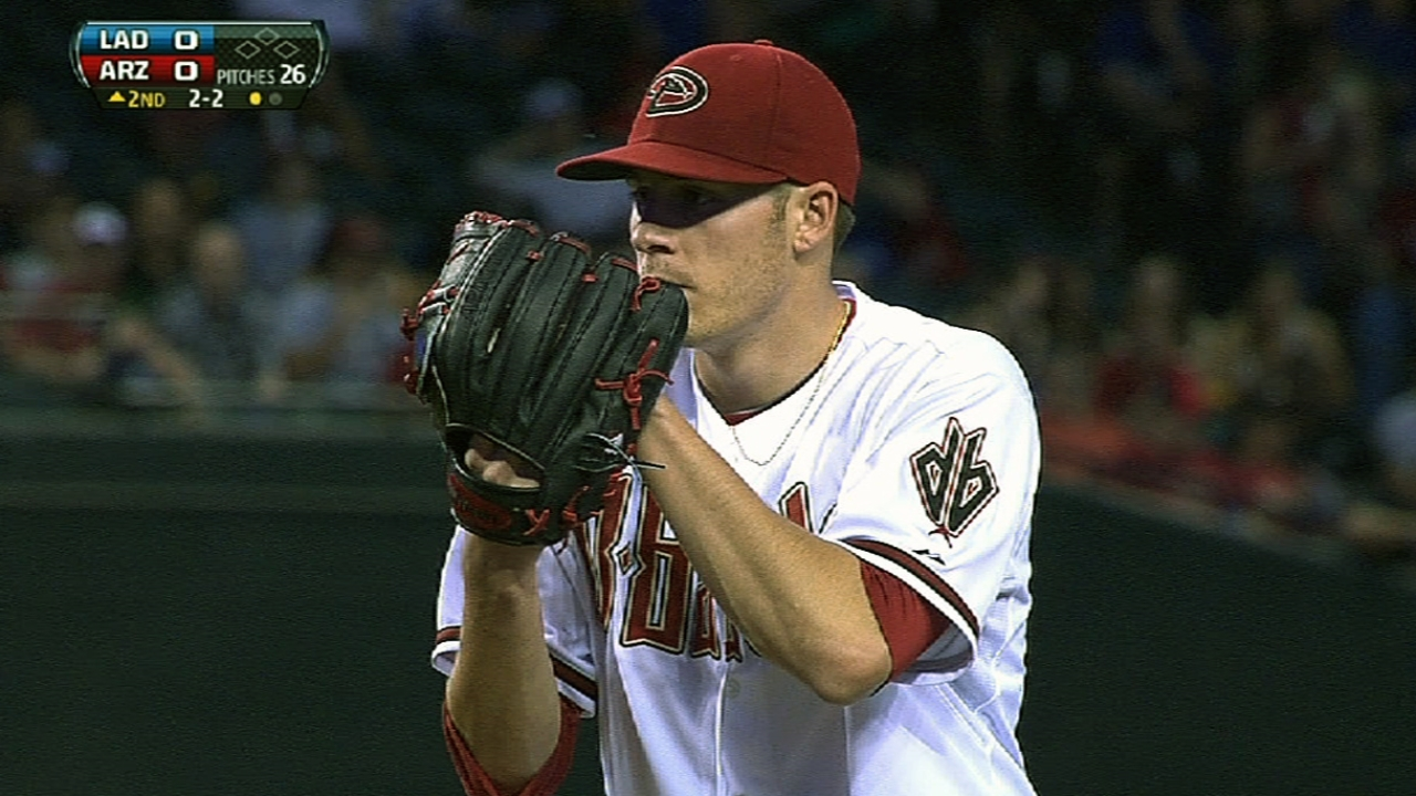 Corbin's strong effort paves way in D-backs' shutout
