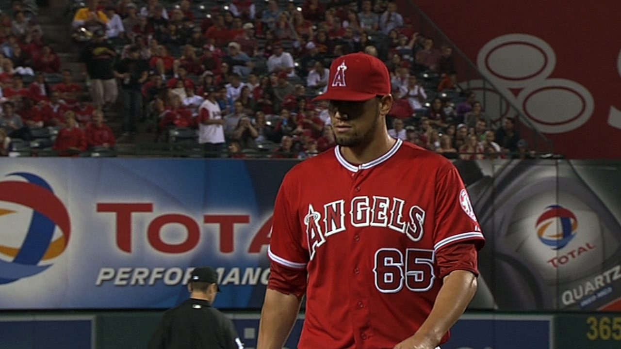 De La Rosa proving to be valuable cog in Angels 'pen