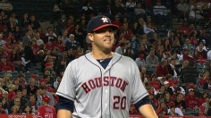 Norris in control as Astros strike first against Angels