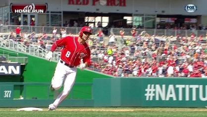 Espinosa hits a solo homer