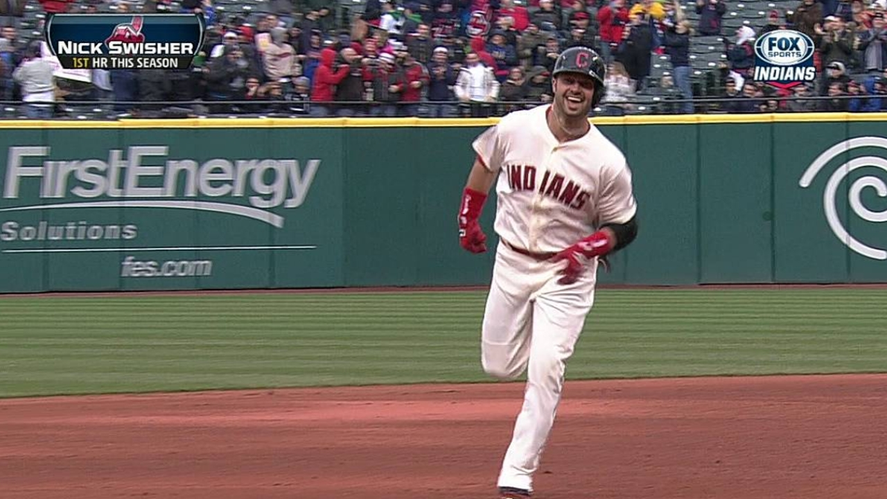 Tribe's new additions helping against lefties