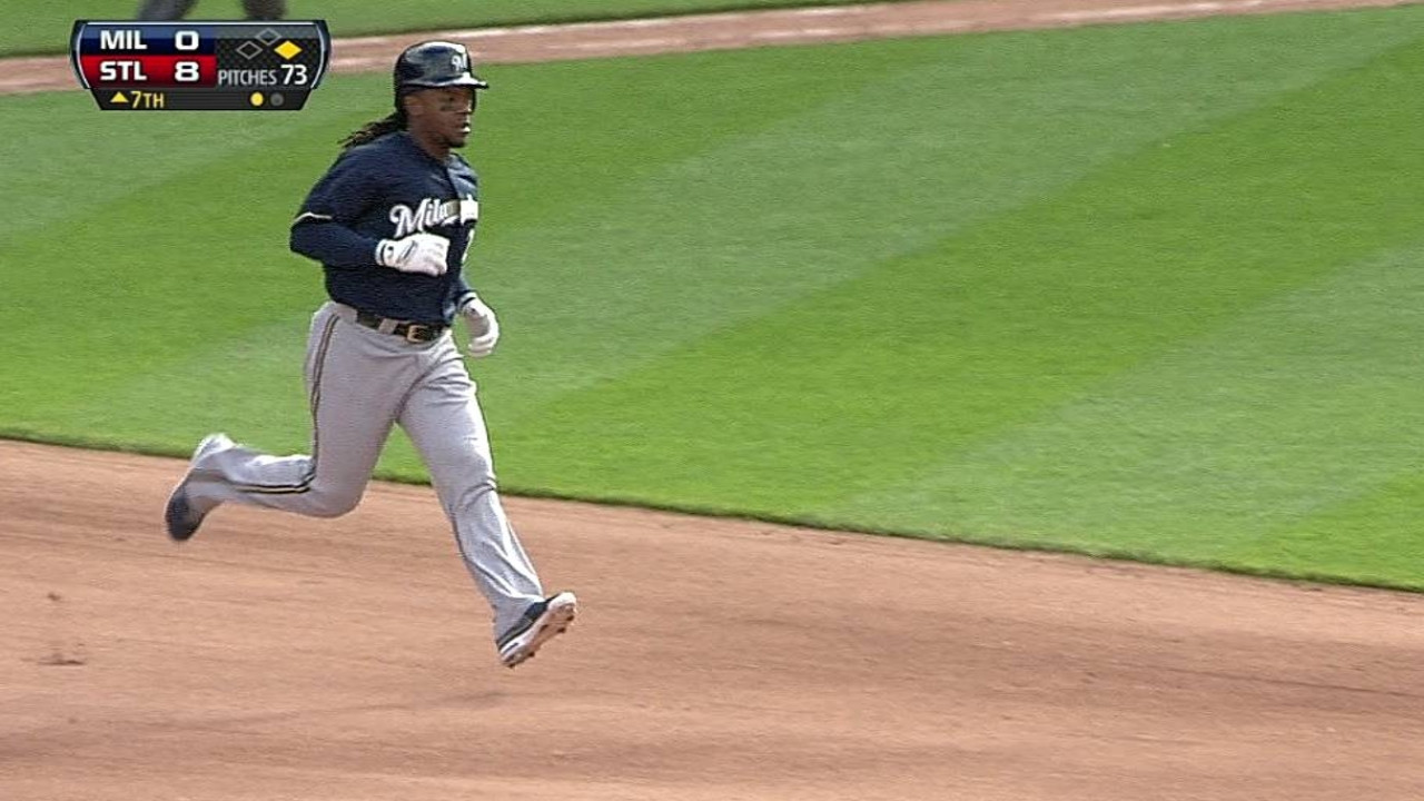 Cleanup spot still an issue for Brewers