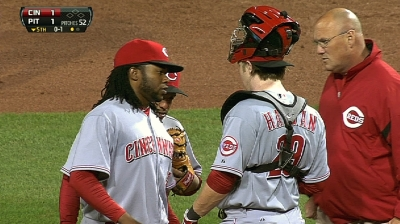 If Cueto passes checkup, ace to start rehab stint
