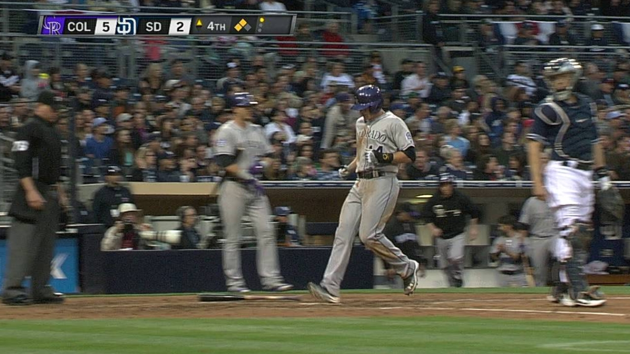 Weiss gives CarGo breather vs. Padres