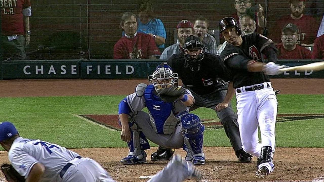 Reacción de D-backs no fue suficiente ante Dodgers