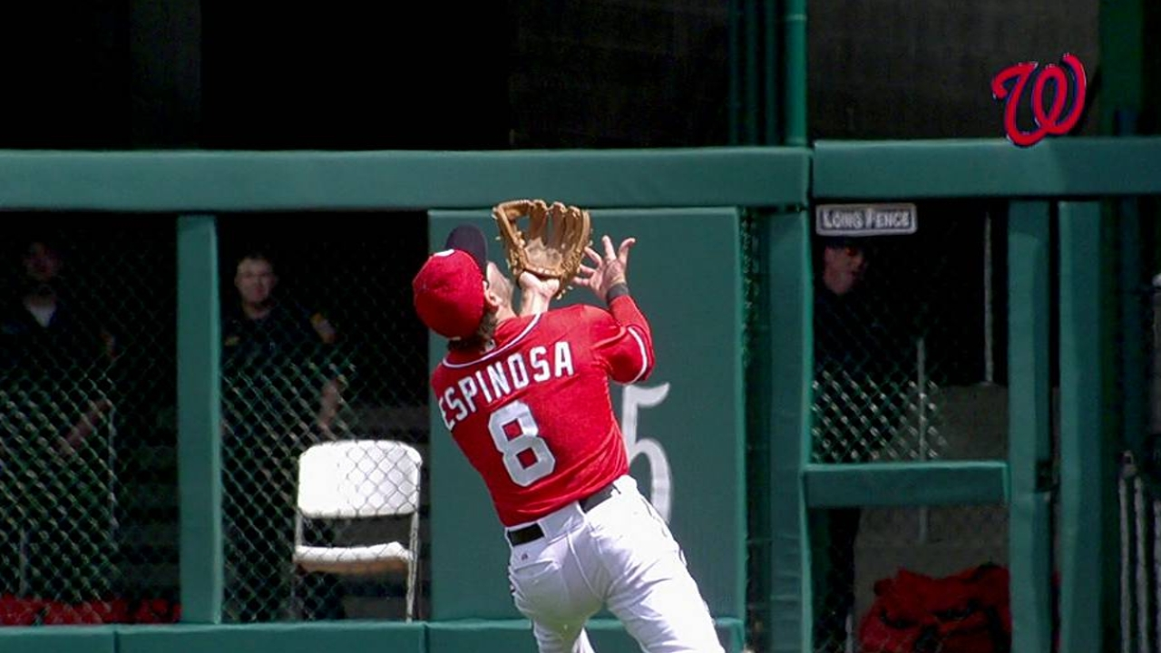 Espinosa's right wrist remains sore
