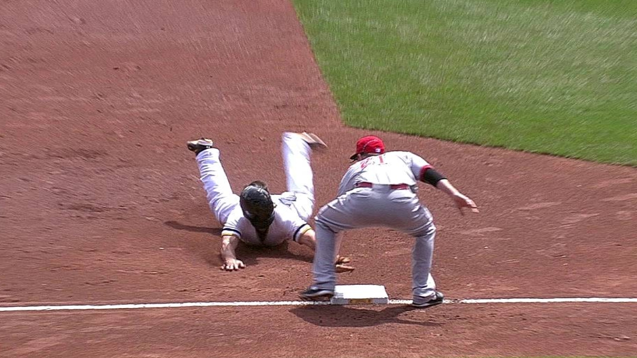 Oblique, not thumb, sends Hanigan to DL