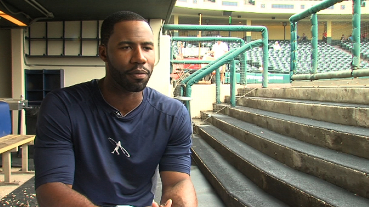 Heyward remembers Jackie as a role model