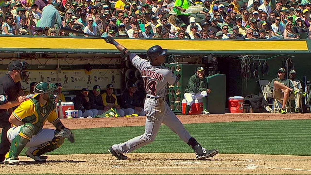 Tigers ride offensive surge to series win over A's