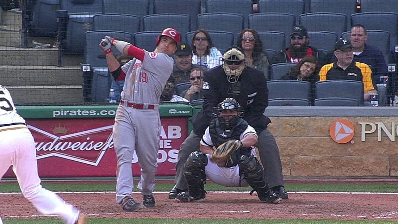 Votto is still productive despite slow start