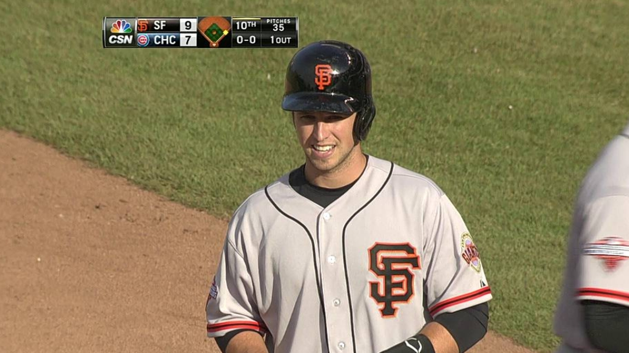 Bochy gives Posey partial breather for finale