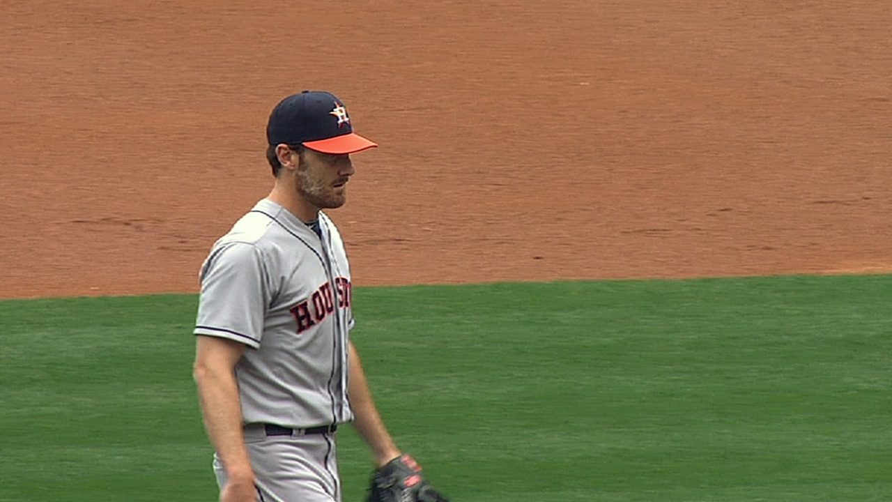 Humber a hard-luck loser as Astros fall to Halos