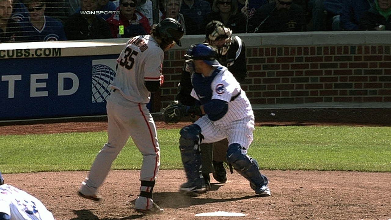 Cubs throw record five wild pitches in single inning