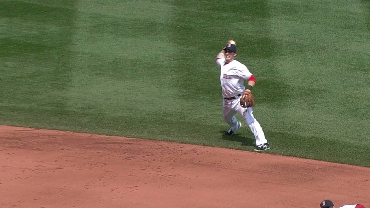 Drew gets night off, Ciriaco starts at shortstop