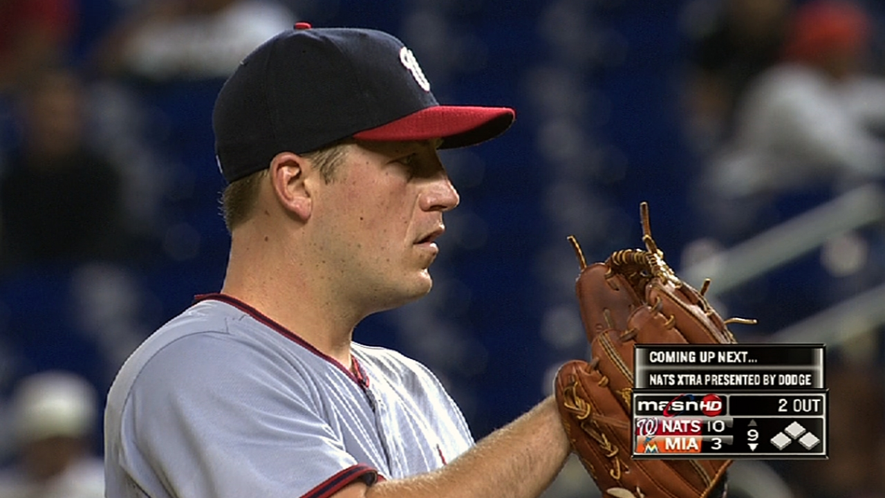 Nats rebound from sweep by clobbering Fish